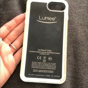 LuMee light iPhone 8 Plus case